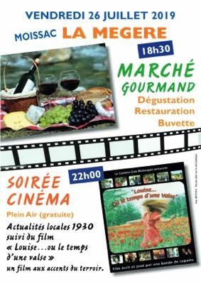 MARCHE GOURMAND #Moissac @ ECOLE DE LA MEGERE