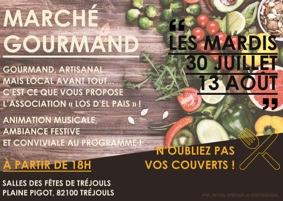 MARCHÉ GOURMAND #Tréjouls @ Salle des fêtes