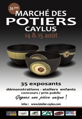 MARCHÉ DES POTIERS #Caylus @ Coeur de village
