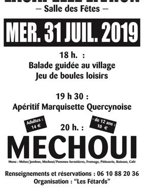 MÉCHOUI #Lacapelle-Livron @ Salle des fêtes