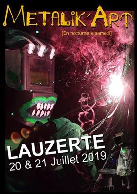 METALIK'ART #Lauzerte @ Promenade de l'éveillée