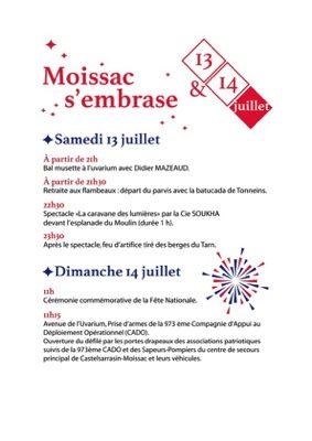 MOISSAC S'EMBRASE #Moissac