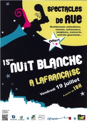 NUIT BLANCHE #Lafrançaise @ centre ville