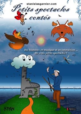 PETITS SPECTACLES CONTÉS #Cazals @ La Guinguette de Cazals