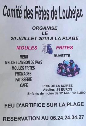REPAS ET FEU D'ARTIFICE #L'Honor-de-Cos @ Plage