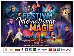 11ème FESTIVAL INTERNATIONAL DE LA MAGIE #Montauban @ EURYTHMIE