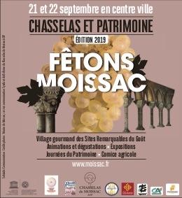CHASSELAS ET PATRIMOINE : FÊTONS MOISSAC #Moissac @ Centre ville, autour de l'Abbtatiale