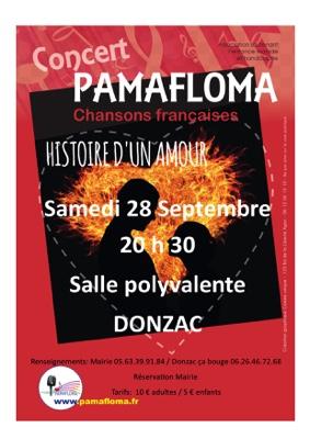 CONCERT PAMAFLOMA #Donzac @ Salle polyvalente