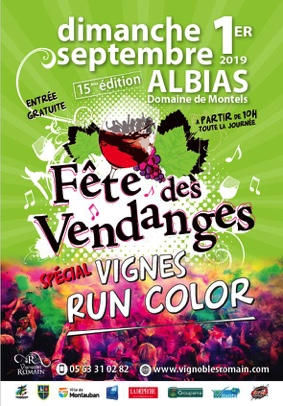 FÊTE DES VENDANGES #Albias @ Domaine de Montels