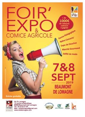FOIR'EXPO #Beaumont-de-Lomagne @ Salle des fêtes