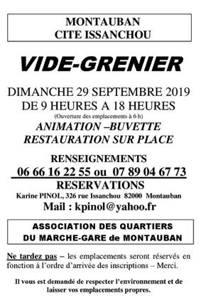 GRAND VIDE GRENIER #Montauban @ Coulée verte