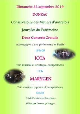 JOURNÉES DU PATRIMOINE #Donzac @ Conservatoire des Métiers d'Autrefois