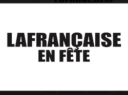 LAFRANÇAISE EN FÊTE #Lafrançaise @ centre village