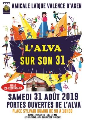 L'ALVA SUR SON 31 #Valence d'Agen @ Place Sylvain Dumon