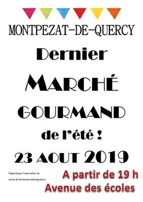 MARCHE GOURMAND #Montpezat-de-Quercy @ Avenue des Ecoles