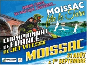 MOISSAC FÊTE LE TARN - JET SKI #Moissac @ Berges du Tarn - Canal