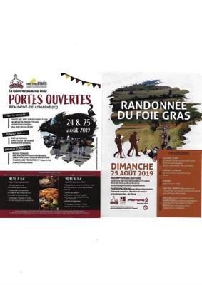 PORTES OUVERTES : ANIMATIONS - MARCHÉ - RANDONNÉE - REPAS #Maubec @ La maison Micouleau