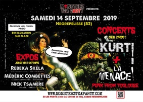 LA RENTRÉE PUNK DES MONSTERZ #Nègrepelisse @ Monsterz Tea Party