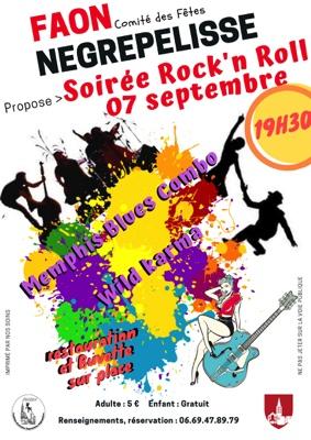 SOIRÉE ROCK'N ROLL #Nègrepelisse @ Chateau de Nègrepelisse