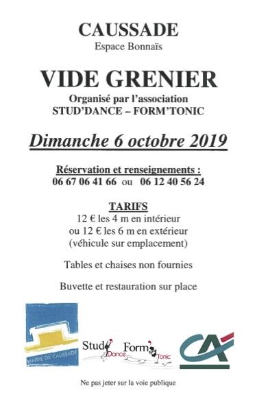 VIDE-GRENIER #Caussade @ Espace Bonnaïs