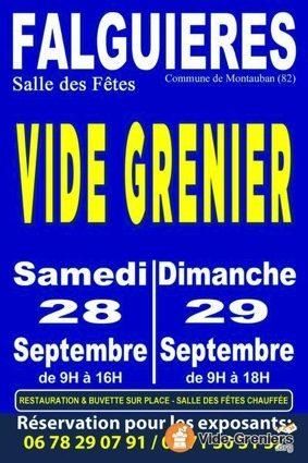 VIDE GRENIER #Montauban @ Salle des fêtes de Falguières