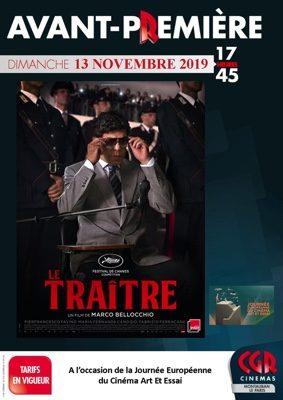 AVANT-PREMIÈRE LE TRAÎTRE #Montauban @ Cinéma CGR Le Paris