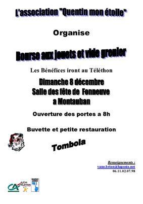 BOURSE AUX JOUETS / VIDE GRENIER #Montauban @ Salle des fêtes de Fonneuve