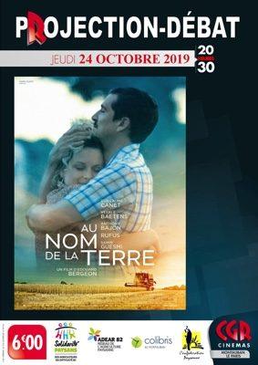 CINÉ-DÉBAT AU NOM DE LA TERRE #Montauban @ Cinéma CGR Le Paris