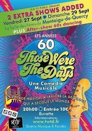 COMÉDIE MUSICALE ANNÉES 60 #Montaigu-de-Quercy @ Salle des fêtes