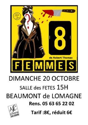 COMEDIE POLICIERE #Beaumont-de-Lomagne @ Salle des Fêtes