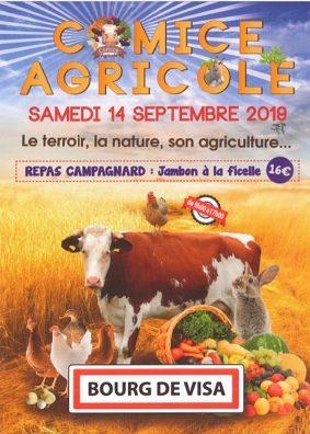 COMICE AGRICOLE #Bourg-de-Visa @ Au village