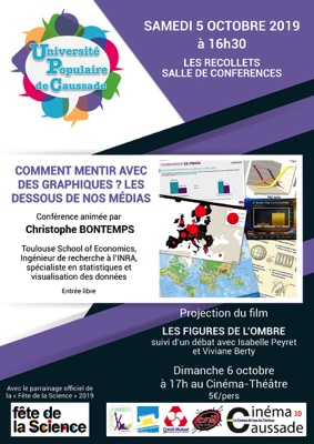 CONFÉRENCE - FÊTE DE LA SCIENCE #Caussade @ Salle de conférences des Récollets