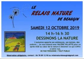 DESSINONS LA NATURE #Auvillar @ Relais Nature de Beaugin