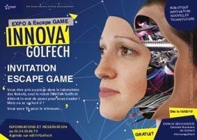 ESCAPE GAME ET ATELIER 3D #Valence d'Agen @ Espace découverte EDF Golfech-OUVERTURE EXCEPTIONNELLE