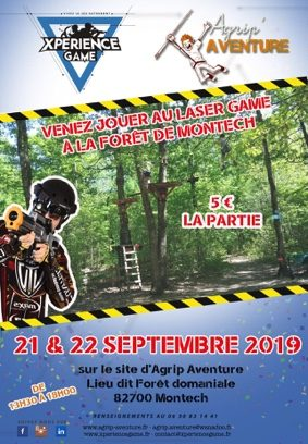 EVENEMENT XPERIENCE GAME #Montech @ AGRIP AVENTURE