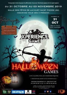 EVENEMENT XPERIENCE GAME -  TOURNOI HALLOWEEN GAMES #Lacourt-Saint-Pierre @ Salle des Fêtes