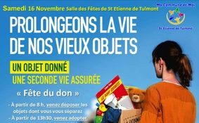 FÊTE DU DON #Saint-Étienne-de-Tulmont @ Salle des fêtes