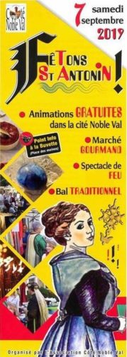 FÊTONS SAINT-ANTONIN ! #Saint-Antonin-Noble-Val @ Village