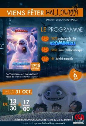 HALLOWEEN AU CINÉMA #Montauban @ CGR MONTAUBAN