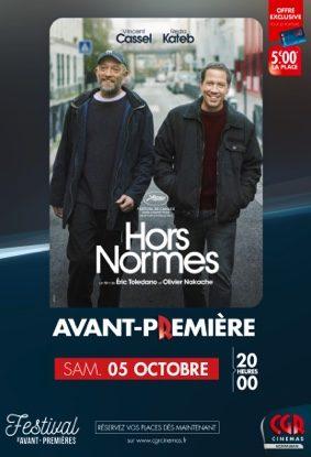 HORS-NORMES EN AVANT-PREMIÈRE #Montauban @ CGR MONTAUBAN
