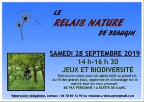 JEUX ET BIODIVERSITÉ #Auvillar @ Relais Nature de Beaugin