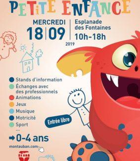 JOURNÉE PETITE ENFANCE #Montauban @ Esplanade des Fontaines