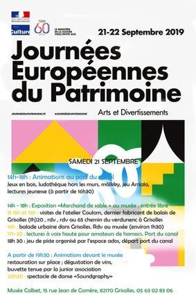 JOURNÉES DU PATRIMOINE AU MUSÉE CALBET #Grisolles @ MUSEE CALBET