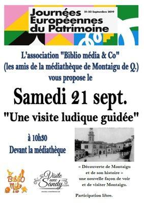 JOURNÉES DU PATRIMOINE #Montaigu-de-Quercy @ Place du Mercadiel - à coté de la médiéthèque