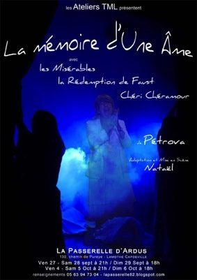 LA MÉMOIRE D'UNE ÂME #Lamothe-Capdeville @ la Passerelle d'Ardus