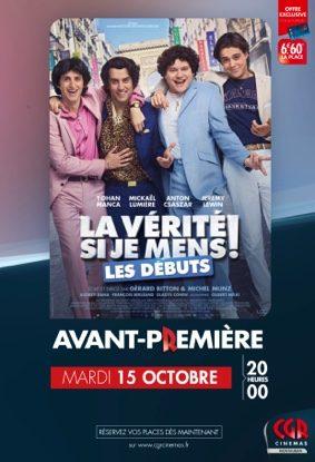 LA VÉRITÉ SI JE MENS ! LES DÉBUTS en Avant-Première #Montauban @ CGR MONTAUBAN