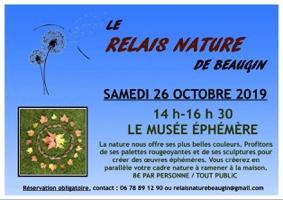 LE MUSÉE ÉPHÉMÈRE #Auvillar @ Relais Nature de Beaugin