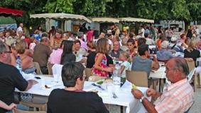 MARCHÉ GOURMAND #Montaigu-de-Quercy @ proche place Mercadiel