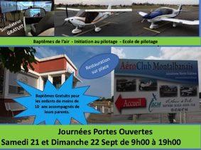 PORTES OUVERTES AEROCLUB MONTALBANAIS #Montauban @ AERODROME DE MONTAUBAN