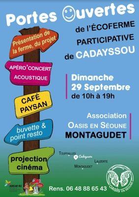 PORTES-OUVERTES DE L'OASIS #Montagudet @ Ferme de Cadayssou